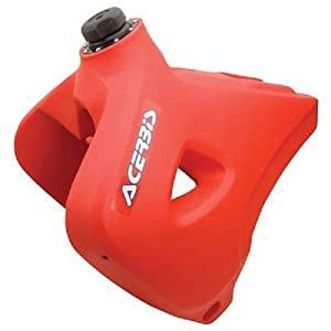 Acerbis Fuel Tank - Red - 6.3 Gal. , Color: Red 2140710229
