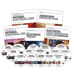Mike Holt's Journeyman Electrical Exam Preparation Comprehensive Library, 2011 Edition -  - MH-11JRCODVD - ISBN:B005OL0K5U