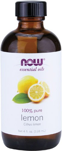 Now Foods Essential Oil, Lemon, 4 Fluid Ounce