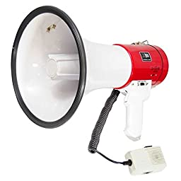 Pyle-Pro PMP58U Professional Piezo Dynamic 50 Watts Megaphone with USB Function