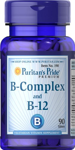 Puritan'S Pride 2 Pack Of Vitamin B-Complex And Vitamin B-12 12-90 Tablets