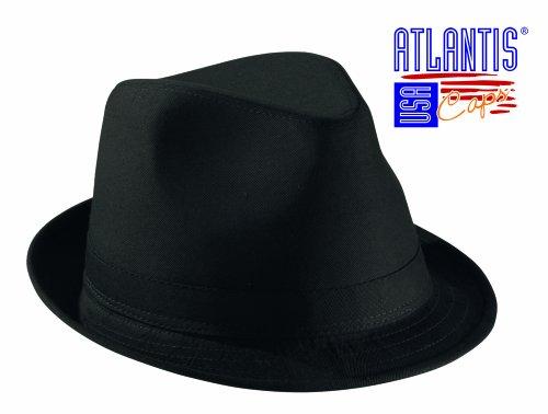 pop-star-nero-tg-55-57cm-cappello-glamour-trilby-in-cotone-fedora-unisex-cap-uomo-donna