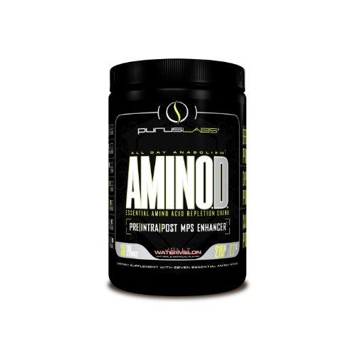 Purus Labs Aminod Energy-Drink, Jolly Watermelon, 219 Gram