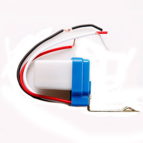 5 Pics Ac Dc 12V 10A Waterproof Auto On Off Photocell Light Switch Photoswitch Light Sensor Switch Streetlight Switch