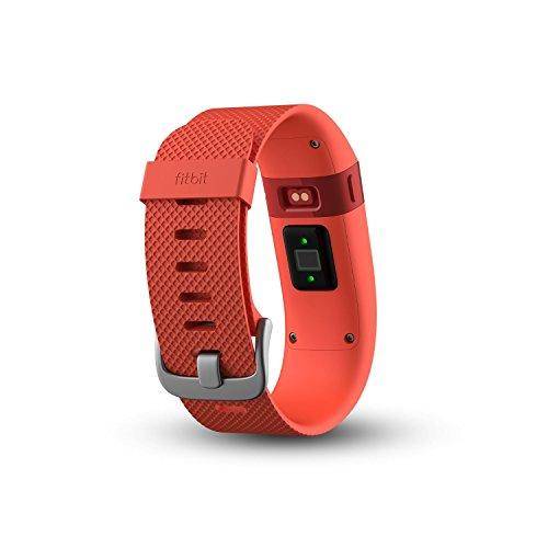 Fitbit Charge HR - Pulsera de actividad y ritmo cardíaco (con pulsómetro óptico), color naranja, talla L 95.91€