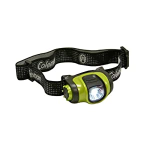 Coleman High-Power 3AAA Headlamp, Colors may vary