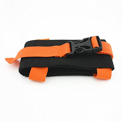 Hualistrong Cell Phone Arm Hanging Bags Outdoor Sports Fitness Mobile Phone Holder Armband Bags Running Arm Bags Cases Orange