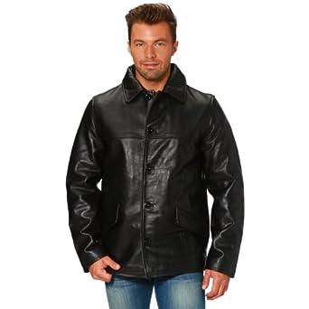 Schott Leather blazer schott Manteau Cuir Homme