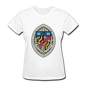 Customized round neck cool johns hopkins for Johns hopkins university t shirts