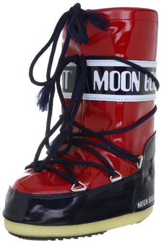 Moon Boot, Moon Boot Vinil, Stivali, Unisex- adulto, (Rosso/Navy 015), 42/44