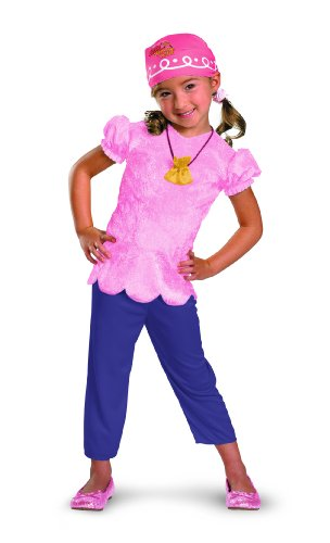Disney Jake And The Neverland Pirates Izzy Classic Costume