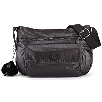Kipling Syro Shoulder Bag Black 6