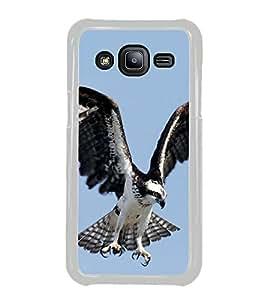 Prowling Eagle 2D Hard Polycarbonate Designer Back Case Cover for Samsung Galaxy J2 J200G (2015) :: Samsung Galaxy J2 Duos :: Samsung Galaxy J2 J200F J200Y J200H J200GU