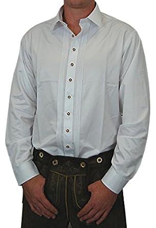 edles trachtenhemd cornelius slim fit wei mit zierbiesen. Black Bedroom Furniture Sets. Home Design Ideas