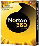 Norton 360 V5 All-in-One Security Software Transactions Antivirus Tune-up Back-up Ref 21162672