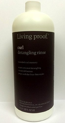 Living Proof Curl Detangling Rinse for Unisex, 32 oz by Living Proof