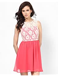 Summer dress with lace detail