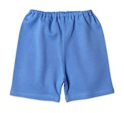 Zutano ''Primary'' Solid Shorts (Baby) - Periwinkle-6 Months