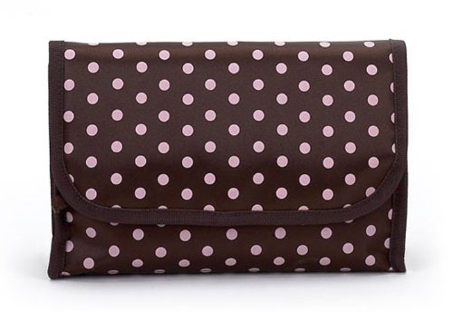 jimeale-overnight-travel-bag-chocolate-pink-polka
