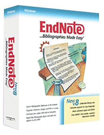 Niles Endnote 8.0 Windows