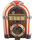 Steepletone Classic Rock Mini - USB MP3 CD LED Mini Jukebox + REMOTE CONTROL (Light)