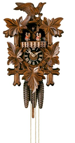 One Day Three Weight Musical Five Leaf Cuckoo Clock