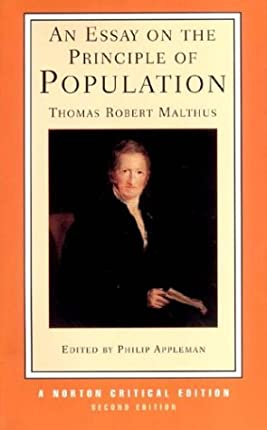 An Essay on the Principle of Population, Second Edition (Norton Critical Editions)
