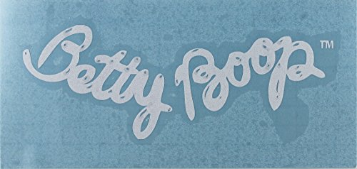 C&D Visionary Betty Boop - Shiny Logo Rub-On Sticker, White