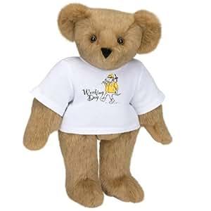 """15"""" T-Shirt Teddy Bear - Working Dog"""