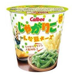 カルビー じゃがりこえだ豆チーズ 52g ×12カップ