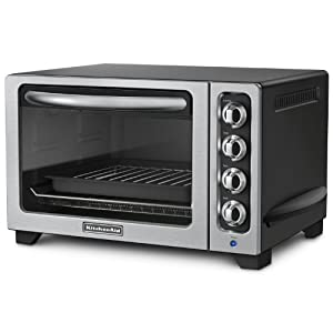 KitchenAid KCO222OB Countertop Oven, Onyx Black by KitchenAid