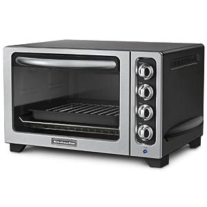 KitchenAid KCO222OB Countertop Oven, Onyx Black