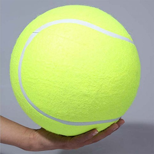 "Firebeast 4pcs Giant 9.5"" Tennis Ball Toy Large Pet Toys Dogs Play Supplies Fun Outdoor Sports Beach Cricket"