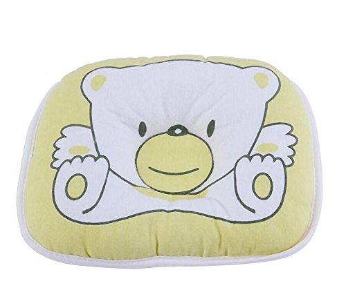 Cute Bear Muster Newborn Infant Baby Kissen Unterstützung Kissen Pad verhindert flachen Kopf weicher Baumwolle schlafen Positionierer [1]