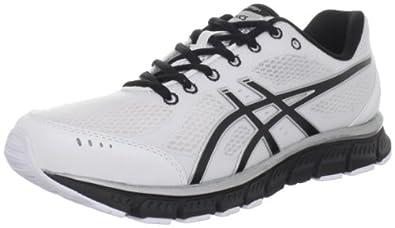 ASICS Men's GEL-Flash Running Shoe,White/Black/Silver,7 M US