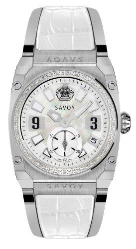 Savoy Icon Light Stainless Steel - Diamond - Bracelet Ladies's Watch