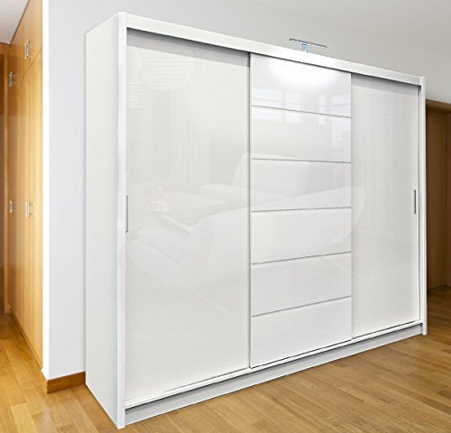 designer fashion 503aa 71f45 Best Price For Sliding Door Wardrobe250 cm width MALIBU ...