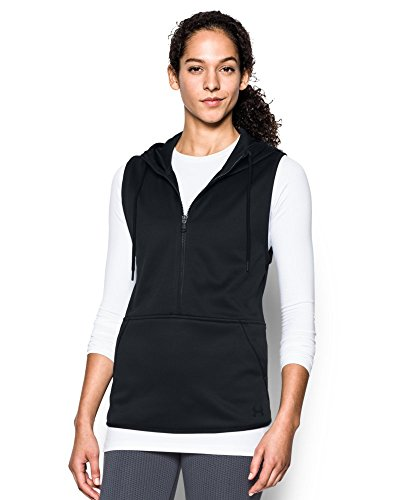 Under Armour Women's Storm Lightweight Armour Fleece Vest, Black (001), Small