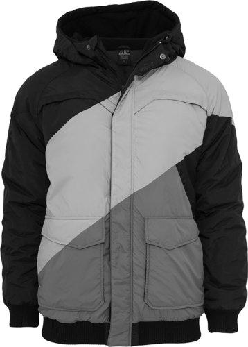 Urban Classics Zig Zag Fastlane Jacket, Farbe:blkgrygry;Größe:M