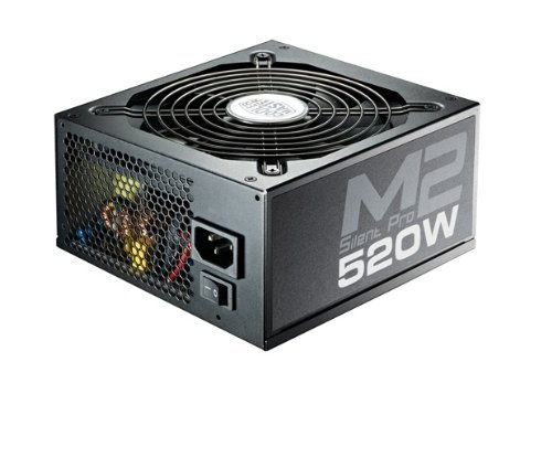 Cooler Master 520W 12V Silent Pro M2 520 Power Supply Unit
