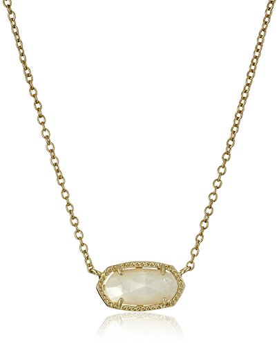 Kendra-Scott-Signature-Elisa-Gold-Plated-Ivory-Mother-of-Pearl-Pendant-Necklace