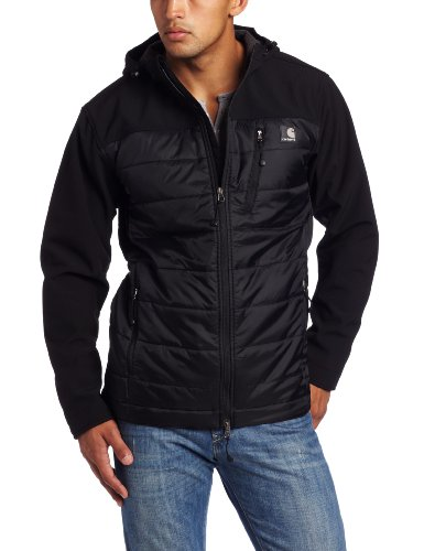 Buy Low Price Carhartt Men's Soft Shell Hybrid Coat, a Mens Coat by Carhartt