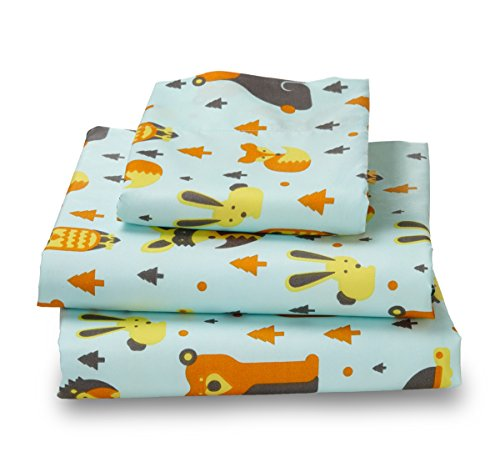 Twin Woodlan Print Bed Sheet Set for Kids Bedding (Child Bed Sheets compare prices)