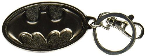DC COMICS (DC comics) BATMAN LOGO (Batman) COLOR PEWTER KEYRING (key ring) [parallel import goods] (japan import) - 1