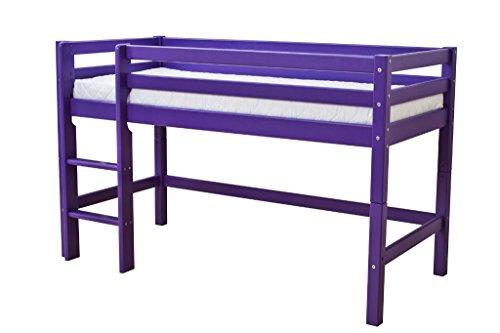 Hoppekids Lit mi-hauteur Basic 70*160 - Violet