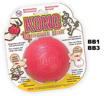 Dog Toys - Kong Balls - Large Biscuit Ball