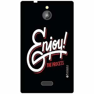Nokia X2 Back Cover - Enjoy Designer Cases
