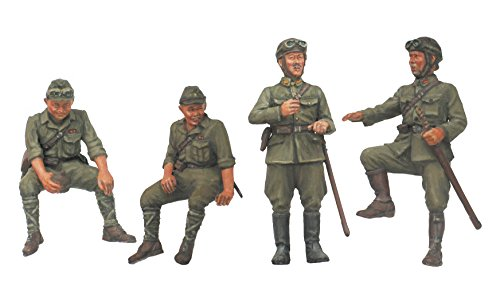 Fine Molds 1/35 WWII Imperial Army Tank Crew Set #2 (1 35 Japanese Tank compare prices)