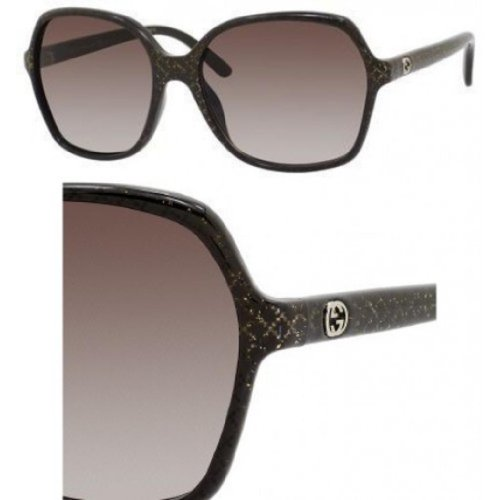 Gucci Gucci 3632S DXJ Brown and Glitter 3632S Square Sunglasses Lens Category 2