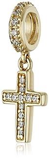 Chamilia 14K Gold Brilliance Pave' Cr…